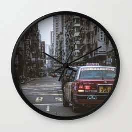 Hong Kong Street Wall Clock