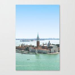 san giorgio island in venice Canvas Print