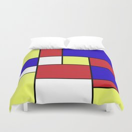 Abstract #406 Duvet Cover