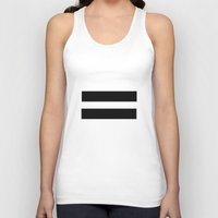 equality Tank Tops featuring Equality  by Jeef