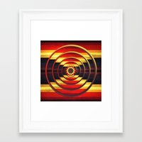 focus Framed Art Prints featuring Focus by DebS Digs Photo Art