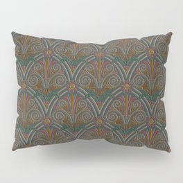 Ornamental Victorian Inspired Pattern Pillow Sham