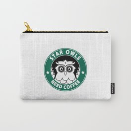Star Owls Carry-All Pouch