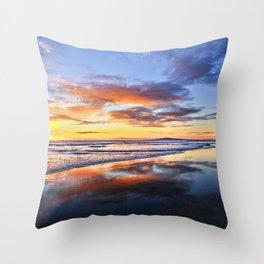 Bolsa Chica State Beach Sunset   11-24-13 Throw Pillow