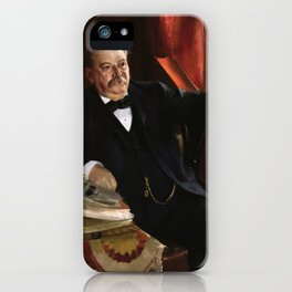 Portrait of Grover Cleveland iPhone Case