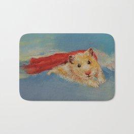Hamster Superhero Bath Mat