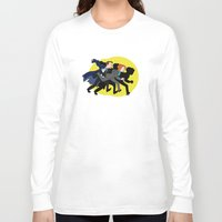 mulder Long Sleeve T-shirts featuring Great Snakes, Mulder. by Anna Valle