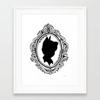 peter pan Framed Art Prints featuring Peter Pan  by Lydia Dick