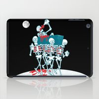 day of the dead iPad Cases featuring Day of the Dead by drawgood