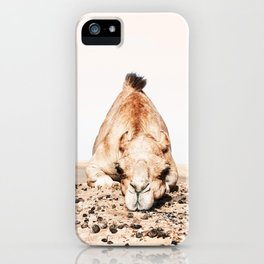 Camille the Camel iPhone Case