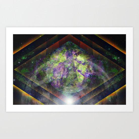 Parallel Worlds Art Print