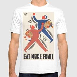 Vintage poster - Eat more fruit T-shirt