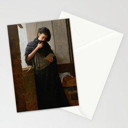 Longing - Saudade-  by Almeida Junior, 1899 Stationery Cards