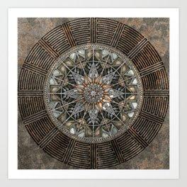 Sun Pendant Art Print