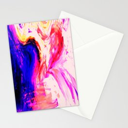 Abstract Hurricane 3 by Robert S. Lee Stationery Cards