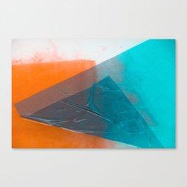 Wet Colors 3 Canvas Print
