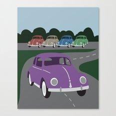 V Bug Canvas Print