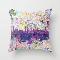 london Throw Pillows featuring London by Bekim ART