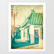 Chinese Food Art Print