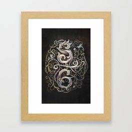 Wax & Wane  Framed Art Print