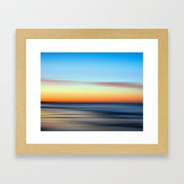 Abstract Seascape 11 Framed Art Print