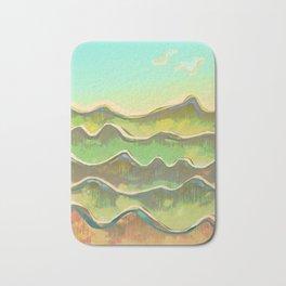 Magic Flight over the Sea of Clouds Bath Mat