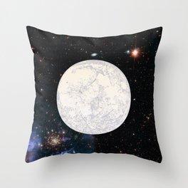 Moon machinations Throw Pillow