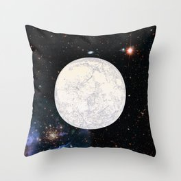 Moon machinations Throw Pillow