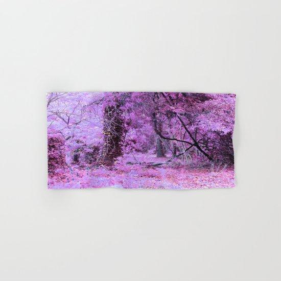 Fantasy Tree Landscape: Orchid Pink Purple  Hand & Bath Towel