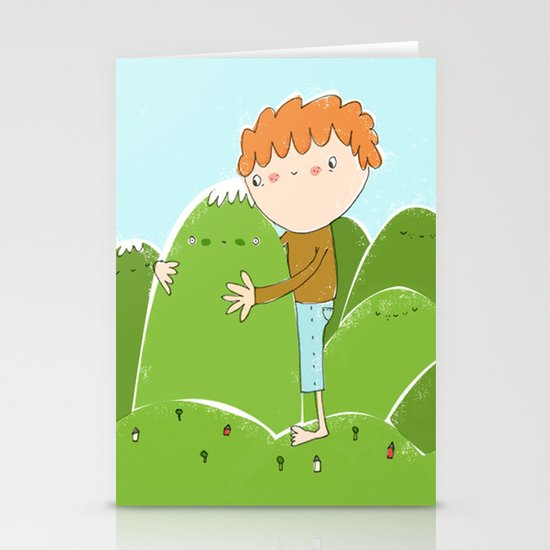 do you need a hug? Stationery Cards