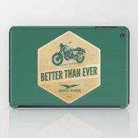 moto iPad Cases featuring moto guzzi by Liviu Antonescu