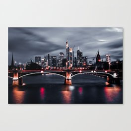Frankfurt Skyline Canvas Print
