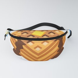 Waffle Quest Fanny Pack