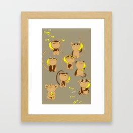 Banana Phone Framed Art Print