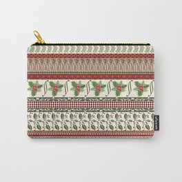 Mistletoe Ugly Sweater Carry-All Pouch