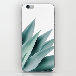 Agave flare II iPhone Skin