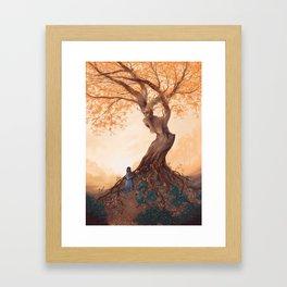 The Guardian of the Golden Grove Framed Art Print