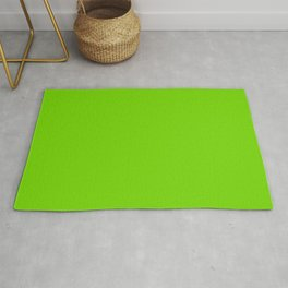 Solid Green Rug