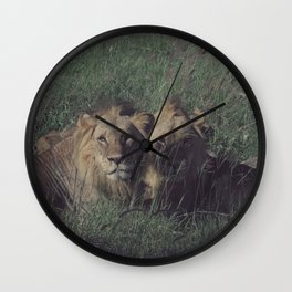 Vintage Africa 12 Wall Clock