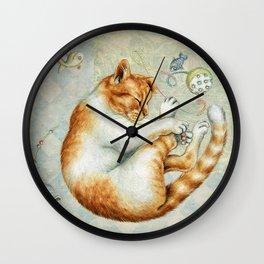 catnap Wall Clock
