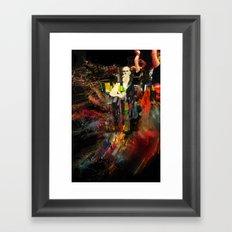A Mountain Man Framed Art Print