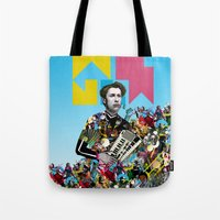 rave Tote Bags featuring RAVE by DIVIDUS DESIGN STUDIO