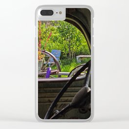 Window in Time Clear iPhone Case