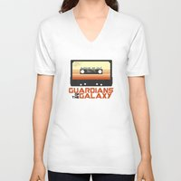 guardians of the galaxy V-neck T-shirts featuring Guardians Of The Galaxy by htsvll