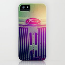 Sunset grill iPhone Case