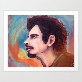 Chris Cornell Art Print