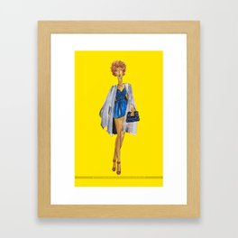 Fashion Drawing Series 3, Pinales Illustrated Framed Art Print
