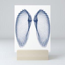 Angel Wings Seashell Mini Art Print