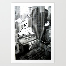 New to Town: Octopus I Art Print