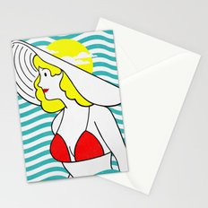 Sun Hat Stationery Cards